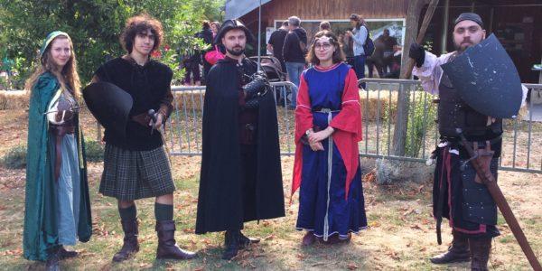 Demo Escrime Médiévale