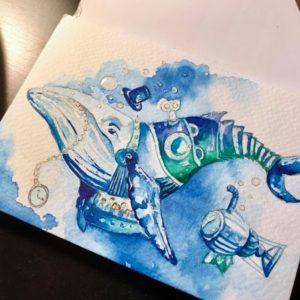 Fantasy Aquarel'